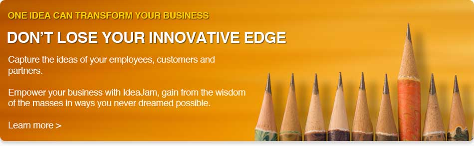 IdeaJam Idea and Innovation Management Software